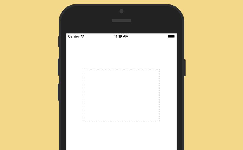 【Swift】いかにも選択してますという感じの動く点線の枠を描く