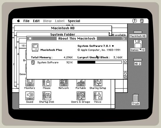 あの爆弾マークも見られるかも!?昔のMacがブラウザで動く「Classic Mac OS」
