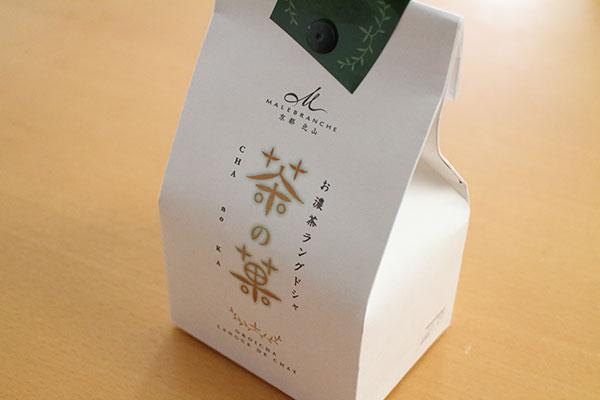 京都のおすすめお土産「茶の菓(ちゃのか)」