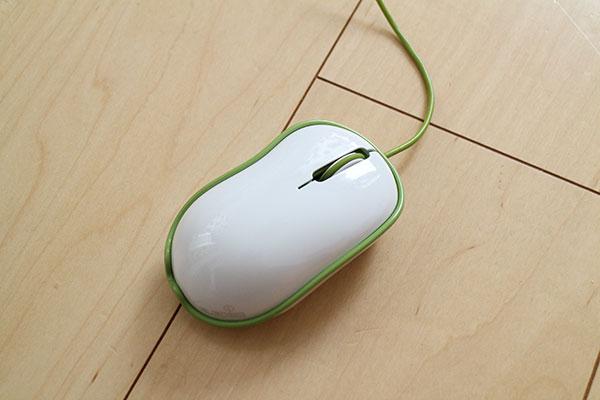 オシャレなデザインのマウス「リンカクマウス」