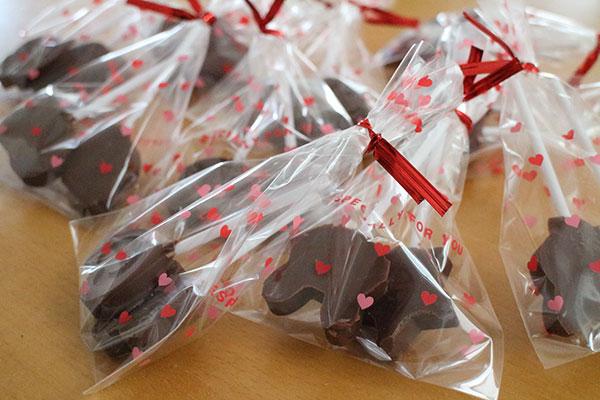 生まれて初めてバレンタインのチョコを作る