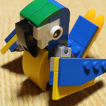ユニクロでレゴをもらったよ