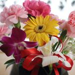 花育で母の日のプレゼント作り