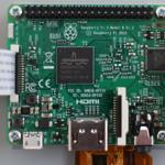 Raspberry pi3に7インチ タッチ・スクリーン ディスプレイを接続する
