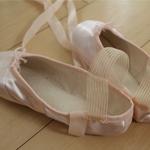 こどものバレエ教室 バレエシューズがトゥシューズに
