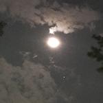月と火星が接近中