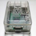 Raspberry Pi 3のロゴ入り透明ケース これはクオリティが高い!