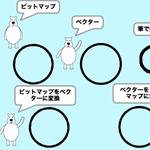 【Scratch】輪郭だけの円と四角はビットマップとベクターだとヒットエリアが違う