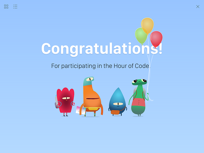 Swift Playgrounds の「Hour of Code」のコースにチャレンジ