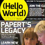 教育者向けの雑誌「Hello World」が発刊!(PDF版は無料)