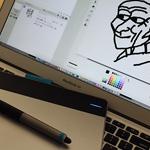 【Scratch】ペンタブレットが使えない!→ 解決