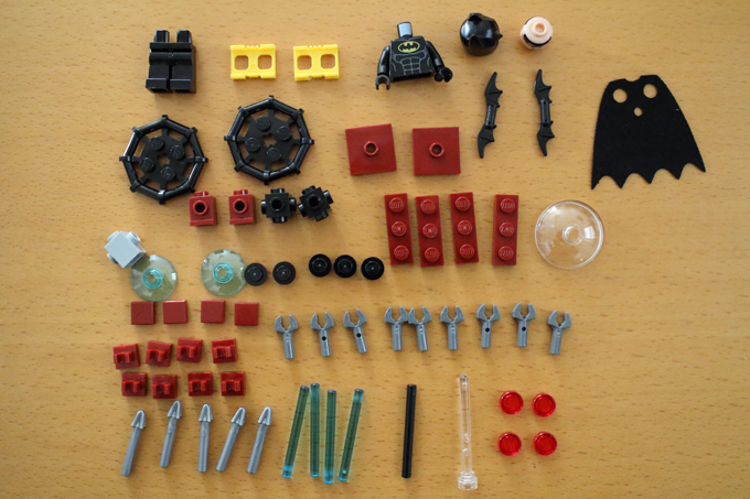 「レゴバットマン・ザ・ムービー」前売り特典LEGOミニセット