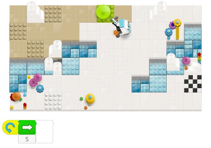 LEGOのロボットをゴールに導こう!「Bits & Bricks」