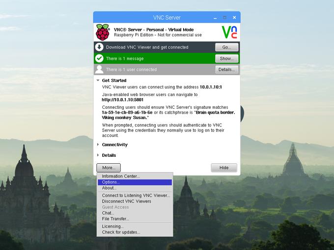VNCでマインクラフト