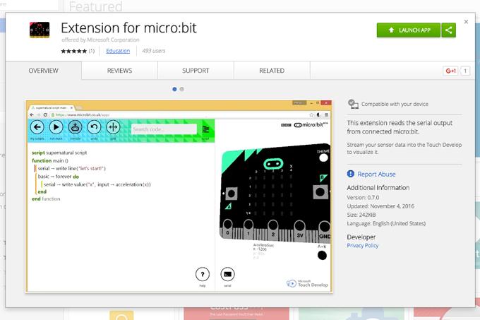 chibi:bit(micro:bit)とシリアル通信