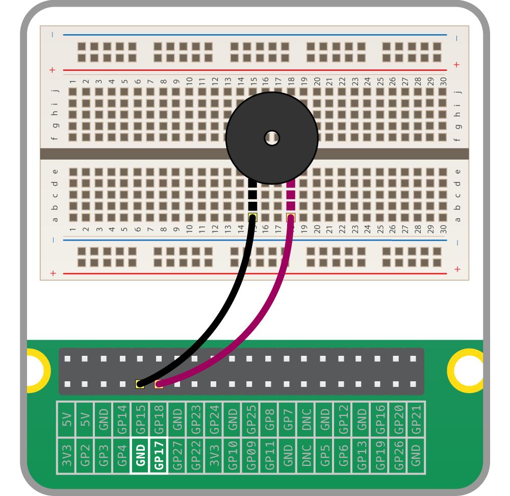 【Raspberry Pi & Scratch】ブザーを鳴らす