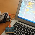 【Scratch】chibi:bit(micro:bit)をゲームのコントローラーにする