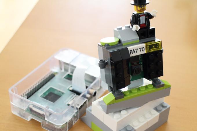 【Raspberry Pi】LEGOでPiカメラのケースを作る
