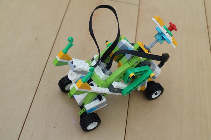 LEGO WeDo2.0 しゃくとりくん