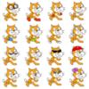 【Scratch】Scratch Cat用アイテム画像のプロジェクトを公開しました
