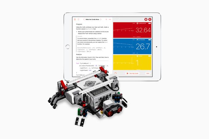 Swift Playgrounds 1.5でロボットに対応