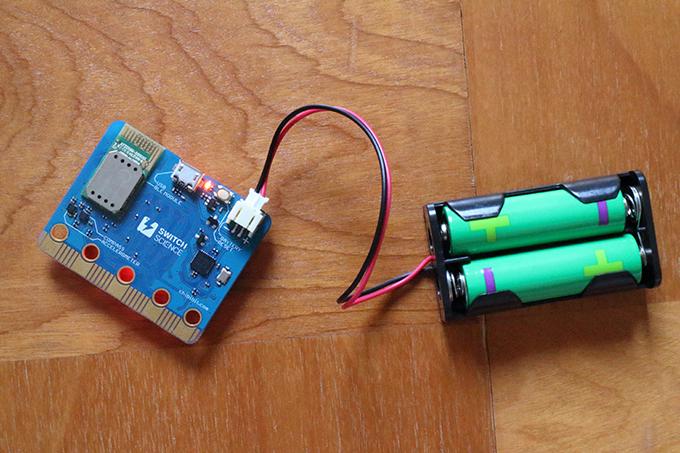 chibi:bit(micro:bit)の電池ケース