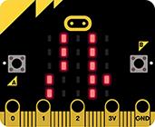 【micro:bit】LEDにカタカナを表示