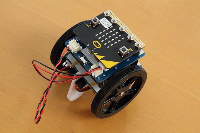 micro:bit用回転サーボモーターモジュールキット