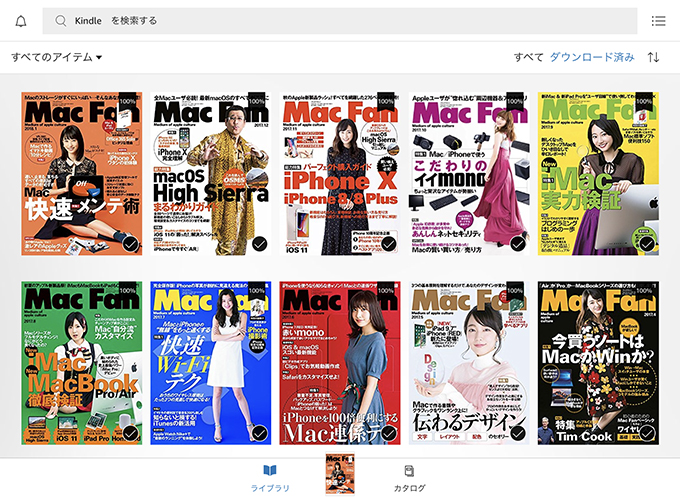 Prime ReadingにMac Fanが追加