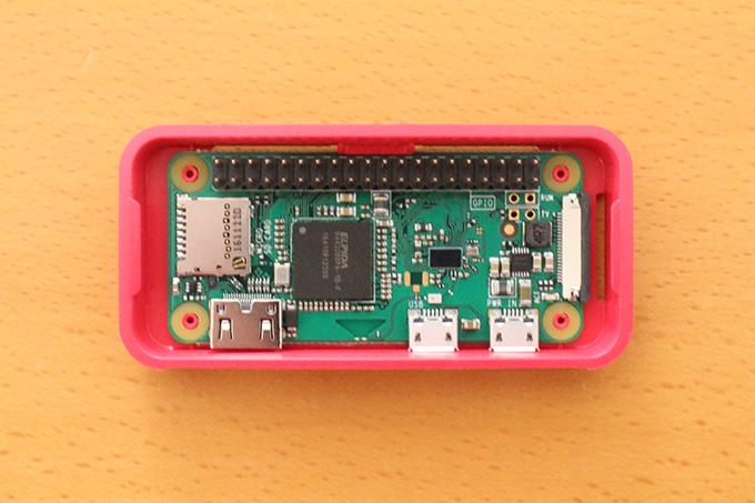 Raspberry Pi Zero ケース