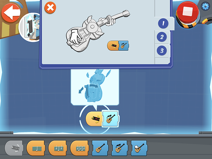 LEGO BOOST ギター4000