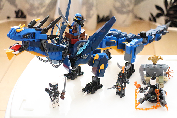 LEGO BOOST「ニンジャゴー ジェイとイナズマ・ドラゴン」