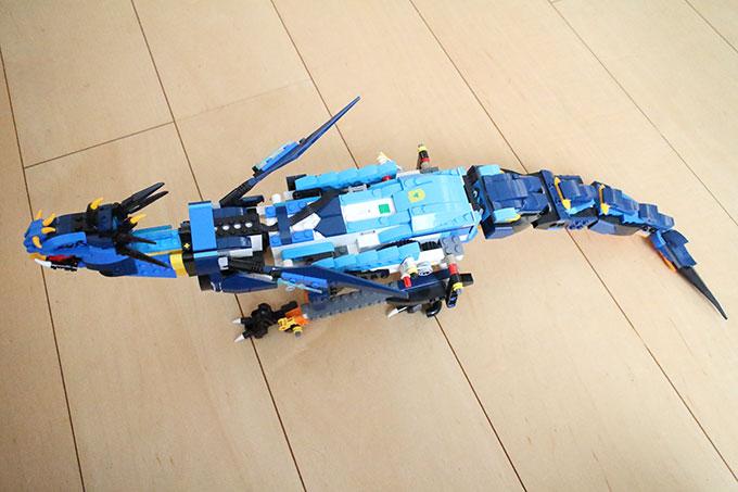 「LEGO BOOST+ニンジャゴー ジェイとイナズマ・ドラゴン」作成その4