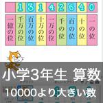 【既存の教科でプログラミング授業】10000より大きい数を調べよう