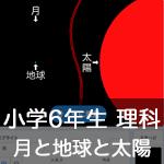 【既存の教科でプログラミング授業】月と地球と太陽