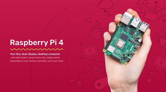 Raspberry Pi 4が登場!