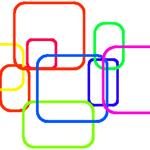 【Scratch】角が丸い四角を描く