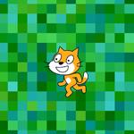 【Scratch】タイルを敷き詰めてスクロール