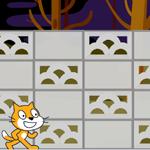 【Scratch】ブロック塀
