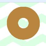 【Scratch】はねるドーナツ