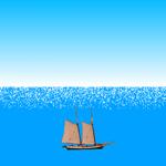 【Scratch】海のきらめき