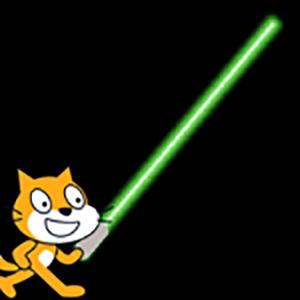 【Scratch】ライトセーバー