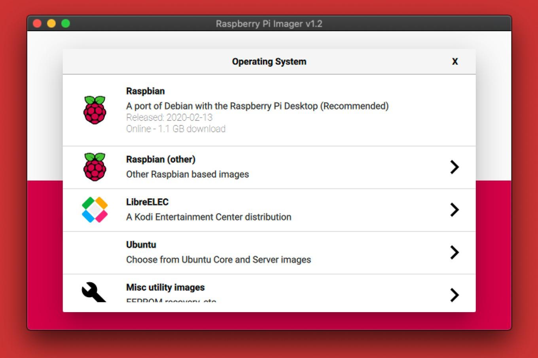 Raspberry Pi ImagerでRaspbianをインストール