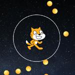 【Scratch】バリアーではねかえす