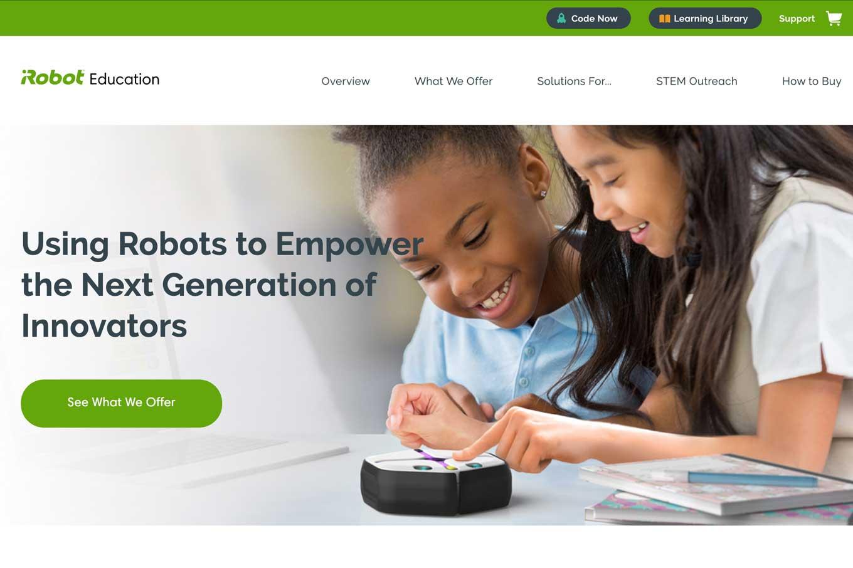 iRobot Educationのロボットプログラミング