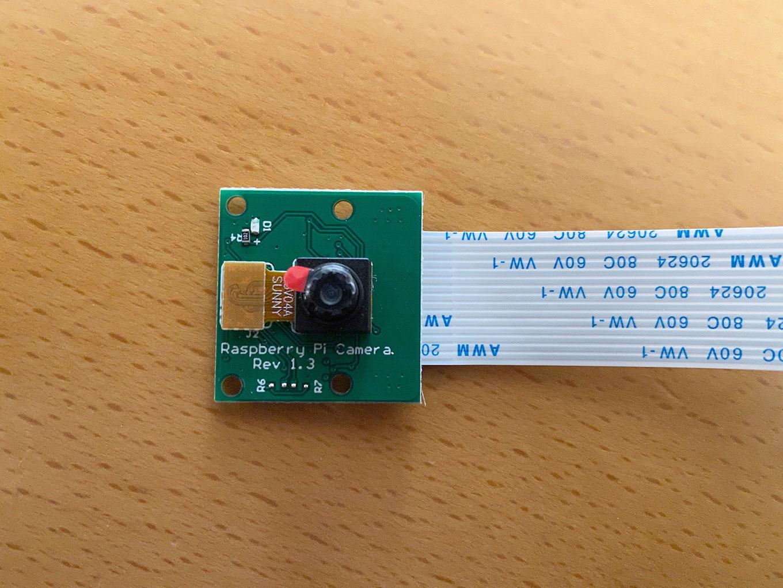 【Raspbery Pi】格安のカメラモジュールを買ってみた
