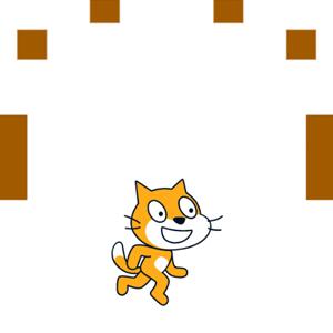 【Scratch】ブロックをこわす