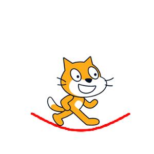 【Scratch】トランポリン