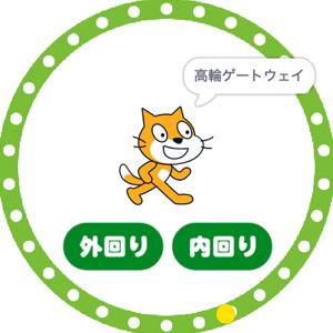 【Scratch】山手線